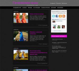 Блог о моде, шопинге и Fashion People